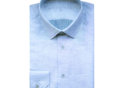 lichtblauw linnen rietbergh